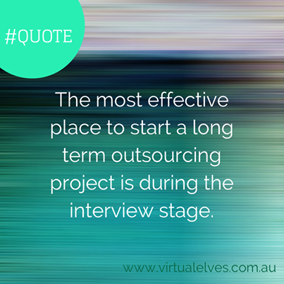quote - interview stage