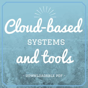 Cloud based systems and tools